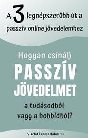 internetes üzleti passzív jövedelem)