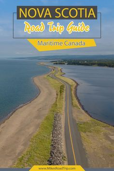 "Space Guide - A Nova Scotia road trip is the perfect introduction into the Maritime region of Canada. Nova Scotia, which means ""New Scotland"" is Canada's ocean playground Alberta Canada, New Travel, Summer Travel, Solo Travel, Pvt Canada, Visit Canada, Canada Trip, Canada Day, East Coast Travel"