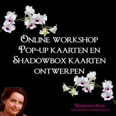 Online workshop Pop-up en schadowbox kaarten ontwerpen voor de silhouette Cameo en Curio