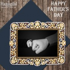 'A son's first hero . A daughter's first love DAD ' #HazoorilalBySandeepNarang wishes all a Happy Father's Day. #HazoorilalCelebrates #Father'sDay #Gold #Diamond #Polki #Jewellery #Hazoorilal #HLbySN
