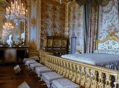 Palace Of Versailles Queens Bed Chamber Queen S Bedchamber