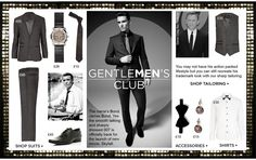Get the Bond look at River Island