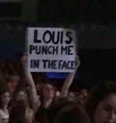 Louis Tomlinsom, Louis And Harry, One Direction Humor, One Direction Pictures, One Direction Headers, Larry Stylinson, Concert Signs, Def Not, Frases Humor