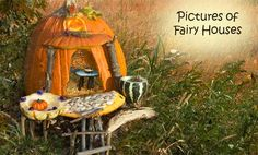 Fairy houses can be fun to make and display around the garden.