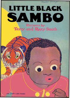 African American Sambo art | LITTLE BLACK SAMBO | HELEN BANNERMAN | Aleph-Bet Books