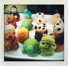 Marzipan Animals | Marzipan animals | Flickr - Photo Sharing!
