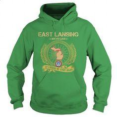 East Lansing-Michigan - #long #hooded sweater. BUY NOW => https://www.sunfrog.com/LifeStyle/East-Lansing-Michigan-Green-Hoodie.html?id=60505