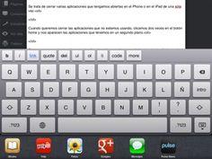 Cierra varias Apps de una sóla vez en el iPhone o en el iPad