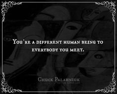 Chuck Palahniuk (Rant)