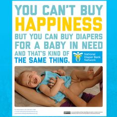 #Happiness, #DiaperNeed, #Diapers, #Babies - Social Media by troy97 - Canva