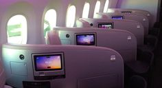 Air New Zealand's new Boeing 787-9 inflight entertainment system