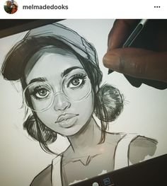 Discover The Secrets Of Drawing Realistic Pencil Portraits.Let Me Show You How You Too Can Draw Realistic Pencil Portraits With My Truly Step-by-Step Guide. Realistic Drawings, Cute Drawings, Drawing Sketches, Pencil Drawings, Sketching, Realistic Cartoons, Horse Drawings, Pencil Art, Black Girl Art