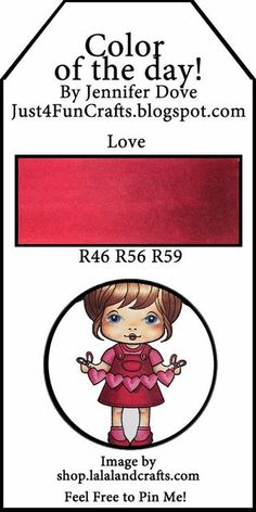 Copic Color of the Day Love!