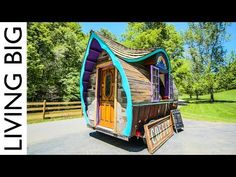 Incredible Tiny House Cafe Is A True Work Of Art | Living Big In A Tiny House