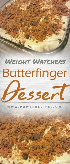 You won't find a more delicious dessert than this cool and creamy Butterfinger Chocolate and Peanut Butter Lush. Layer after layer of heaven… Ingredients: 1 prepared angel food cake Weight Watcher Desserts, Weight Watchers Snacks, Plats Weight Watchers, Angel Food Cake Desserts, Köstliche Desserts, Healthy Desserts, Delicious Desserts, Low Fat Desserts, Diabetic Desserts