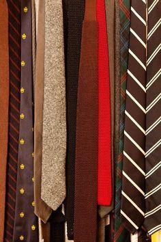 Assortment of ties