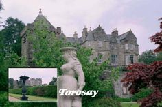 Torosay Castle was acquired in 1865 by Arburthnot Charles Guthrie, a wealthy London businessman.  Torosay Castle, Craignure, Isle of Mull, Argyl .... roots of my Guthrie family tree