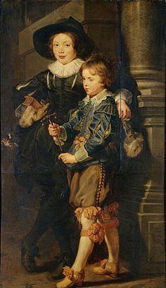 Peter Paul Rubens: Die Söhne des Künstlers. Um 1625