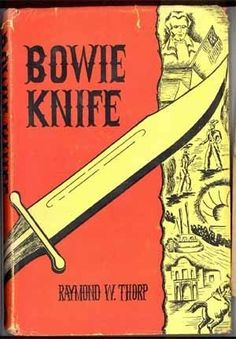 Bowie Knife vintage book