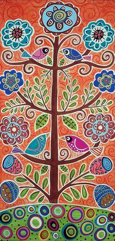 4 Tree Birds by Karla Gerard, via Flickr/ Tree of Life