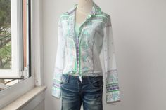 Replay Shirt Replay Floral Shirt Vintage by TequilaCloset on Etsy, $48.00