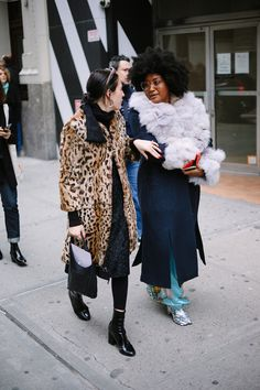 A slideshow of the best of NYFW street style FW18, updated daily!