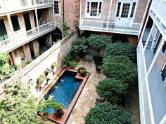 837 Royal Street L, Courtyard and Mini Pool