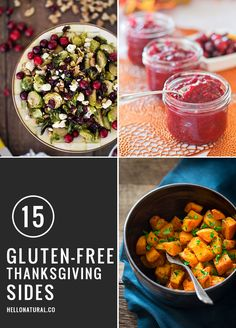 15 Gluten-Free Thanksgiving Side Dishes from healthy bloggers