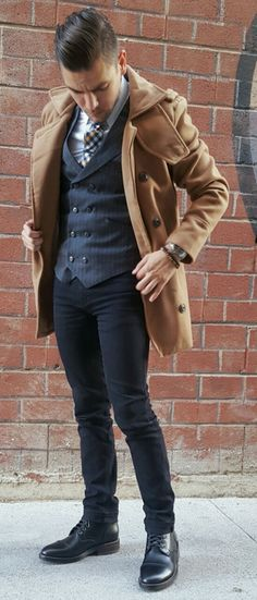 Boots and Denim featuring Thursday Boots #MensFashion