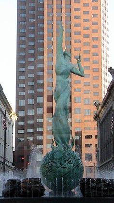 Statue, Cleveland Ohio