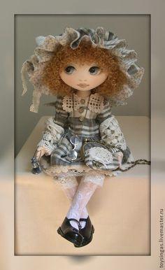 Коллекционные куклы ручной работы. Заказать Кукла текстильная Fanny. Инга Киселева. Ярмарка Мастеров. Кукла ручной работы, подарок