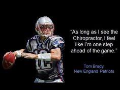 Tom Brady relies on #chiropractic
