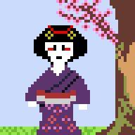 [OC][NEWBIE][CC] Geisha! http://ift.tt/2duV0U6