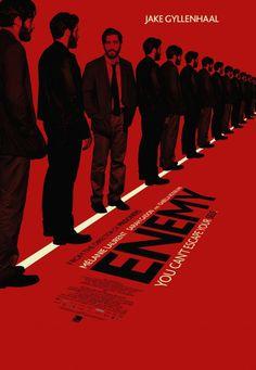 Enemy movie poster.