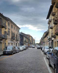 #Torino #Turin #BorgataTesso #seemycity #igerstorino #nofilter #blue #sky #clouds