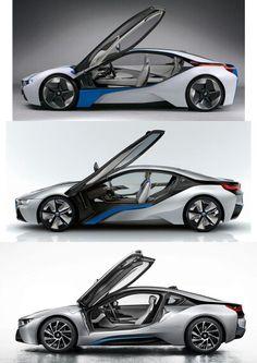 BMW i8 - Concept to Reality   BMW   Bimmer   Dream Car   electric cars   Schomp BMW
