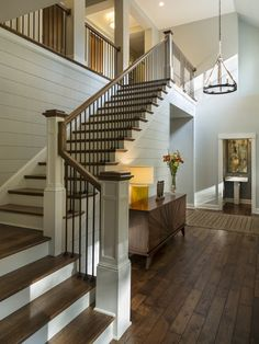 Elegant Building Stairs to Basement