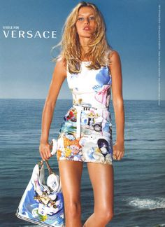 Gisele Bundchen for Versace by Mario Testino (2009)