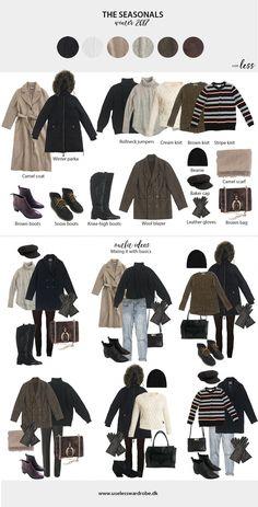 Cover Fashion & Rare Fashion & Ladies Fashion For Winter 2016 20181124 & Capsule Outfits, Fashion Capsule, Mode Outfits, Capsule Wardrobe Winter, Winter Travel Outfit, Winter Fashion Outfits, Autumn Fashion, Winter Travel Packing, Spring Fashion