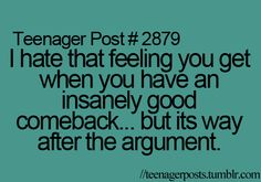 hate that