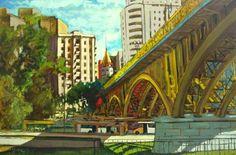 Pinturas de São Paulo, Brasil http://designmuitomais.blogspot.com.br/2015/01/pinturas-de-sao-paulo-brasil.html