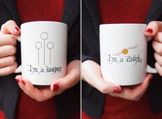 Harry Potter Inspired Boastful Ceramic Mug by AfternoonCoffee... I really REALLY need to have these mugs
