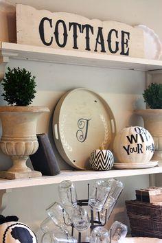 Cottage -- love the shape