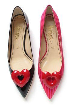 Wedding shoes for modern brides   Gail heart shoes, Jerome C. Rousseau