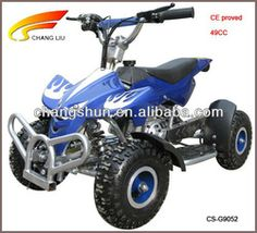 2 stroke 49cc mini gasoline ATV for kids( CS-G9052 ) website: www.harryscooter.com email: sales2@harryscooter.com Skype: Sara-changshun
