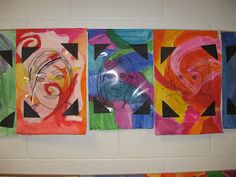 Jamestown Elementary Art Blog: 4th Grade Mary Cassatt Self-Portraits