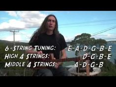 Might be helpful ▶ 4-STRING TUNINGS FOR CIGAR BOX GUITAR with Justin Johnson - YouTube