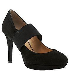 e57d013f788 Gianni Bini Black Suede size 11 Carrie Bradshaw Shoes
