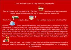 Дядо Коледа изпрати писмо до Общински съвет по наркотични вещества Благоевград | Марихуана БГ
