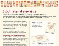 Informationsblad för stödmaterial elevhälsa